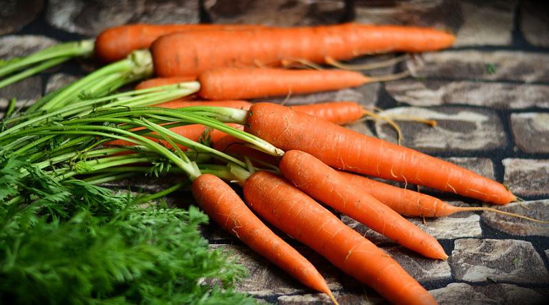 carottes belle peau