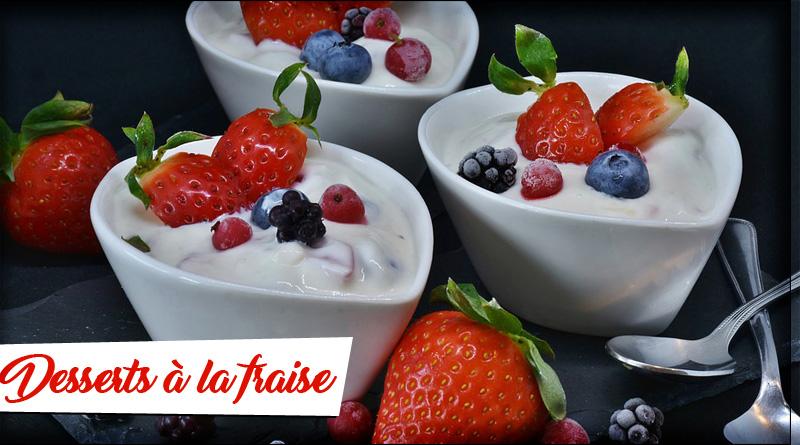 recettes de fraise