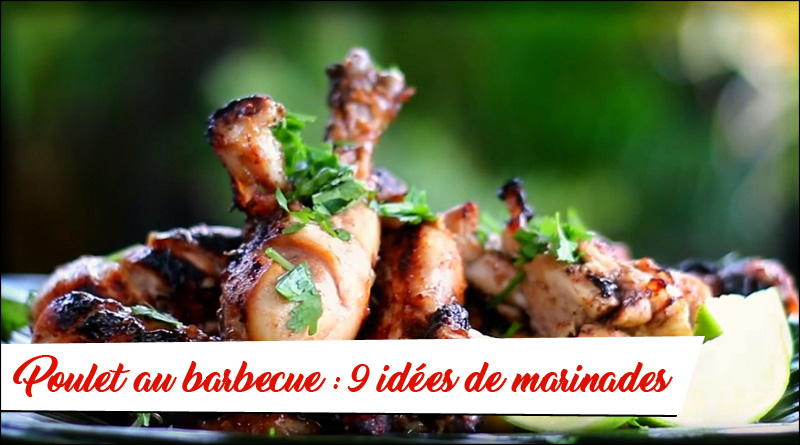 poulet marinade