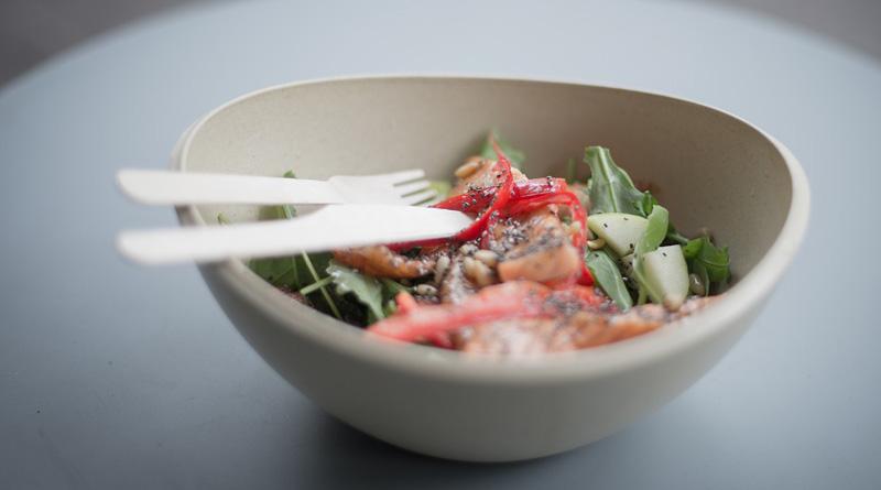 Salade en bocal