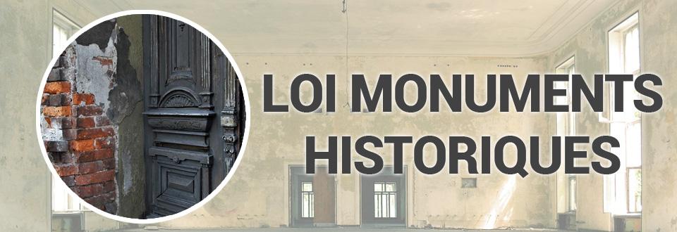 Défiscalisation : Loi Monuments historiques