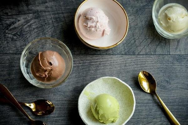 5 recettes gourmandes de glaces sans sucre